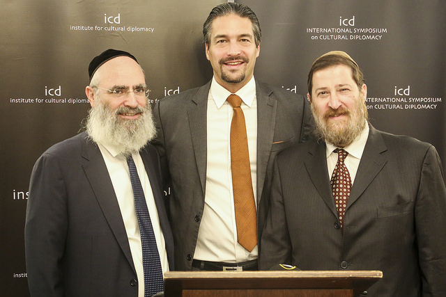 Rabbi Ben Krasnianski on New Year for trees UN HQ 2020